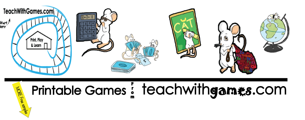 Free printable games and games for sale | teachwithgames