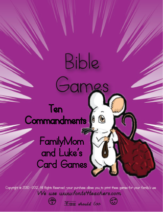 Ten Commandments - Games