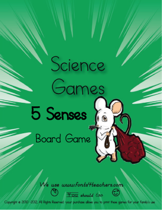 Five Senses Board Game