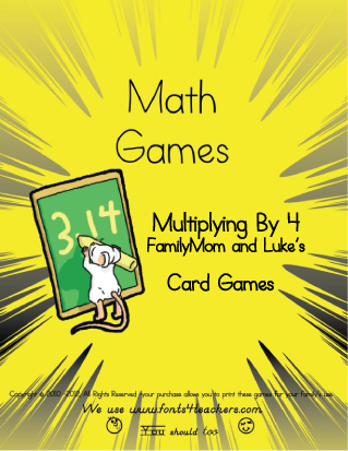 Please send your friends here to get this free printable Math game so we get the traffic needed to continue.