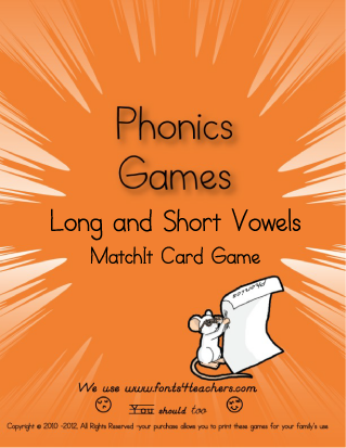 Long and Short Vowel MatchIt