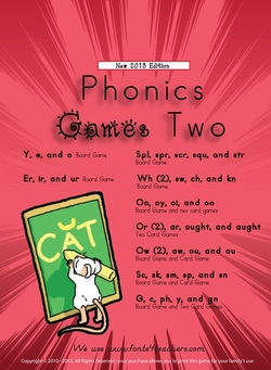 Buy our Phonics Games Level Two after you test the free sample with your students / family.